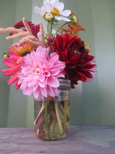 small arrangement front view